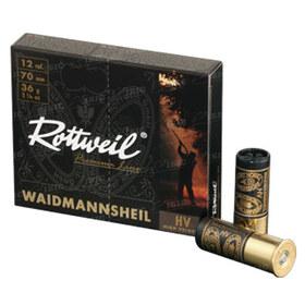 Патрон Rottweil Waidmannsheil HV Plastik кал.12/70 дробь №3 (3,5 мм) 36 г