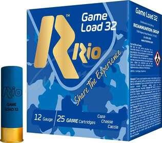 Патрон RIO Game Load-32 NEW кал. 12/70 дробь №0 32 g