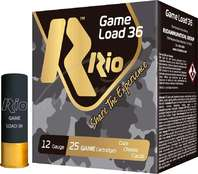 Патрон RIO Game Load-36 NEW кал. 12/70 дробь №00 36 g