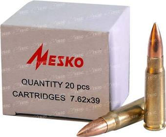 Патрон Mesko 7,62х39 пуля - FMJ